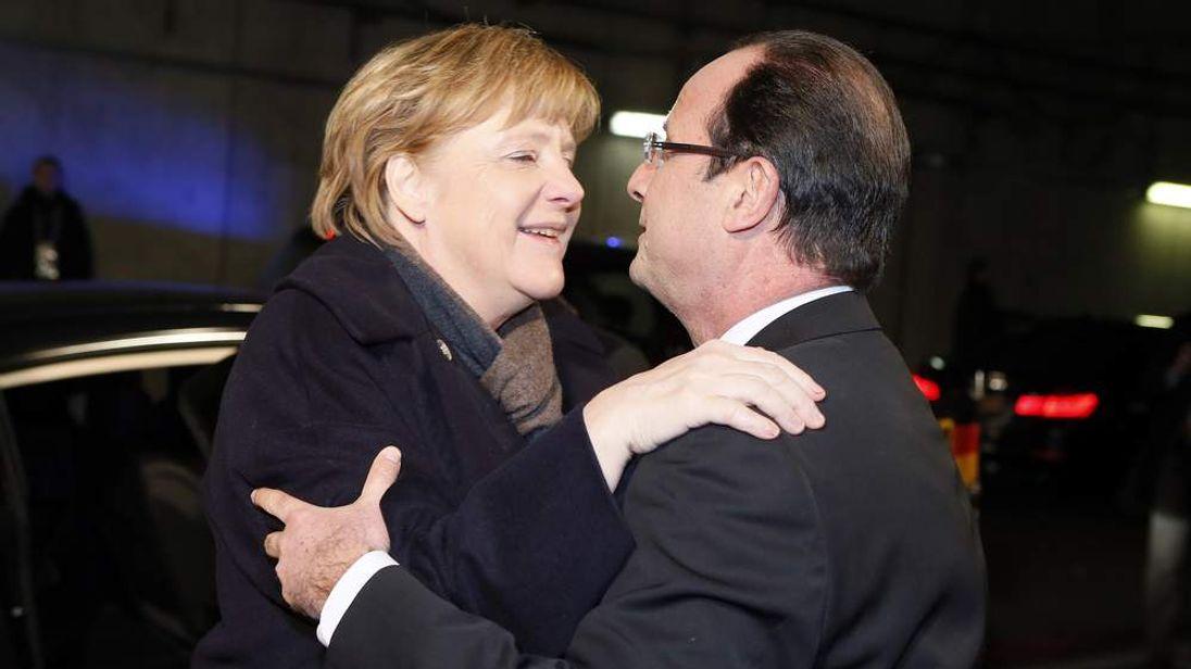 FRANCE-GERMANY-HISTORY-DIPLOMACY-ANNIVERSARY