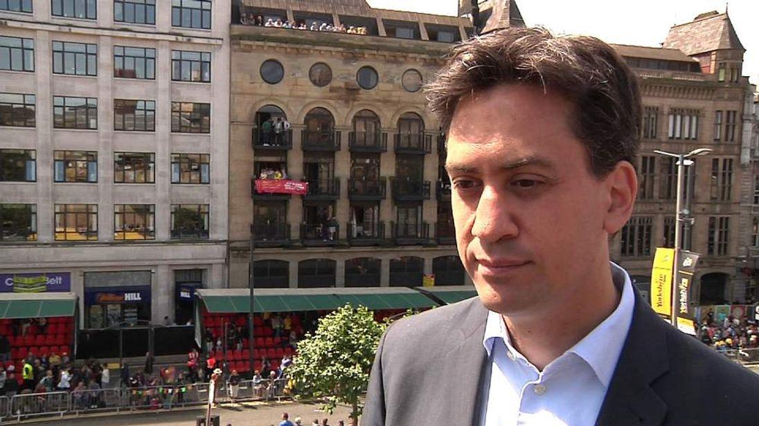 Ed Miliband.