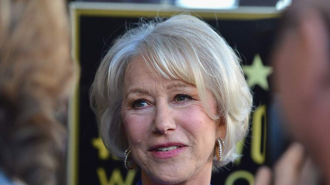 Helen Mirren Honored On The Hollywood Walk Of Fame