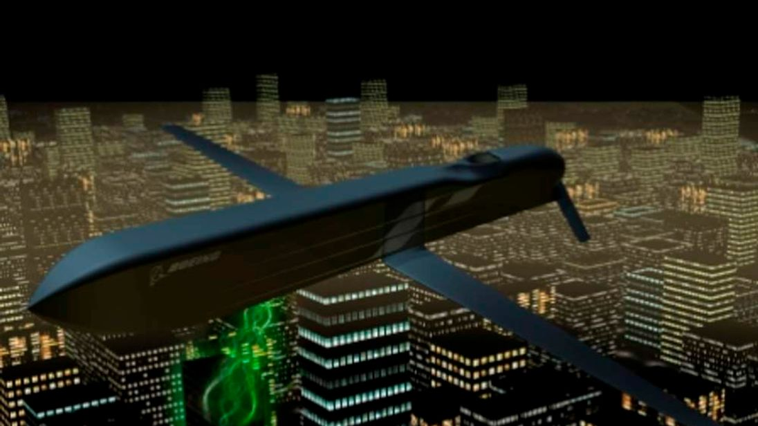 A missile developed by Boeing that targets electronic systems