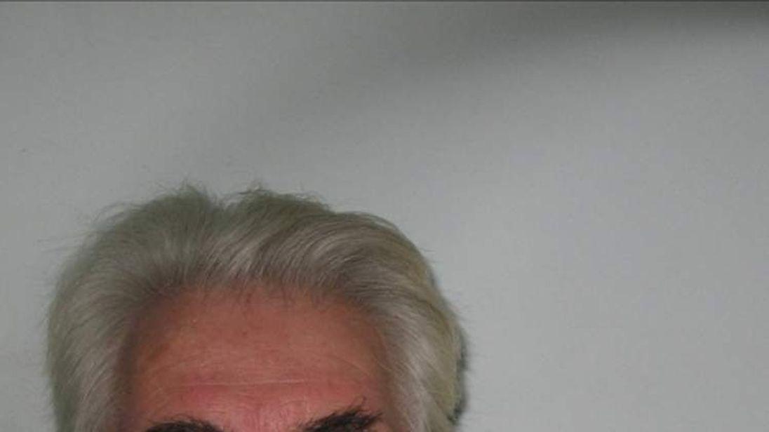 Max Clifford police mugshot