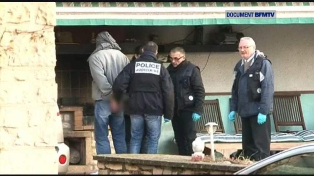 Nimes France murder suspect