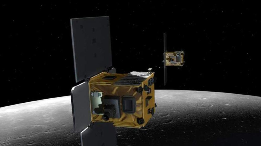 Artist's Impression Of Nasa Probes Ebb And Flow