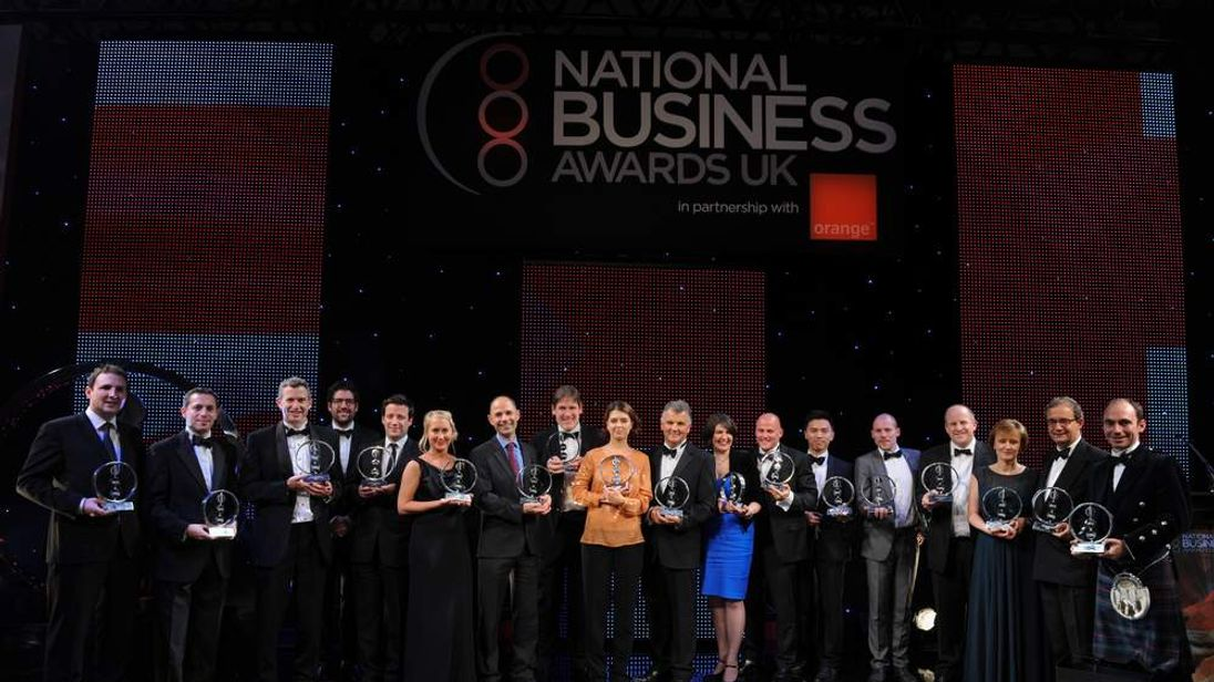 National Business Awards Winners 2012