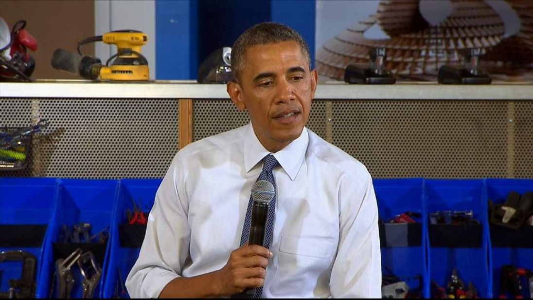 President Obama speaks in Pittsburgh about the Benghazi attack