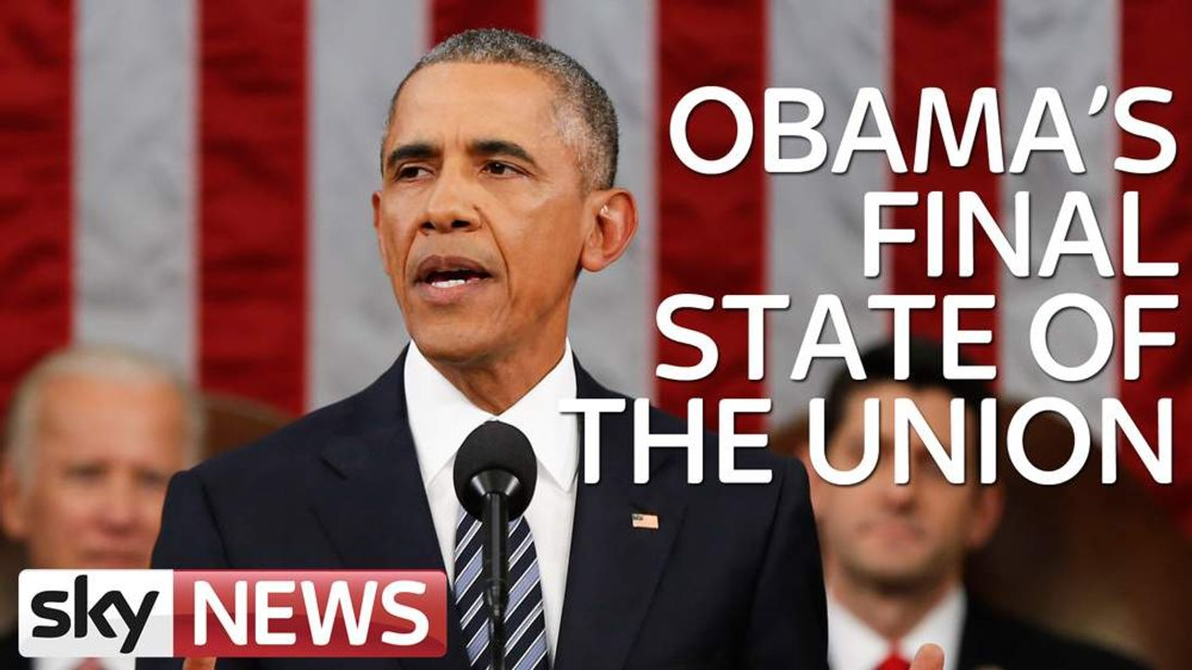 Obama state of the union slate