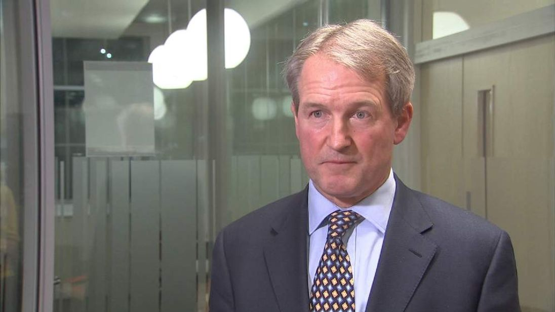 Environment Secretary Owen Paterson with flooding update