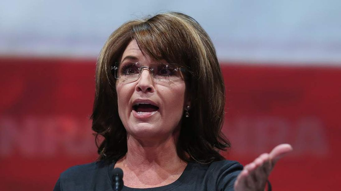 Sarah Palin speaks at the NRA's 2013 Annual Meeting
