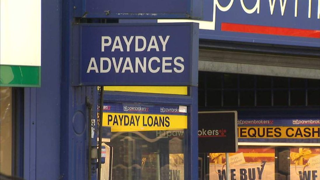Payday loans sign