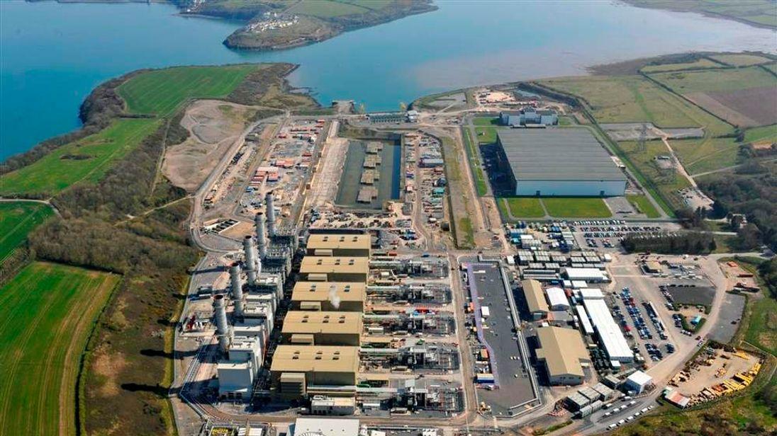 Pembroke Power Station aerial