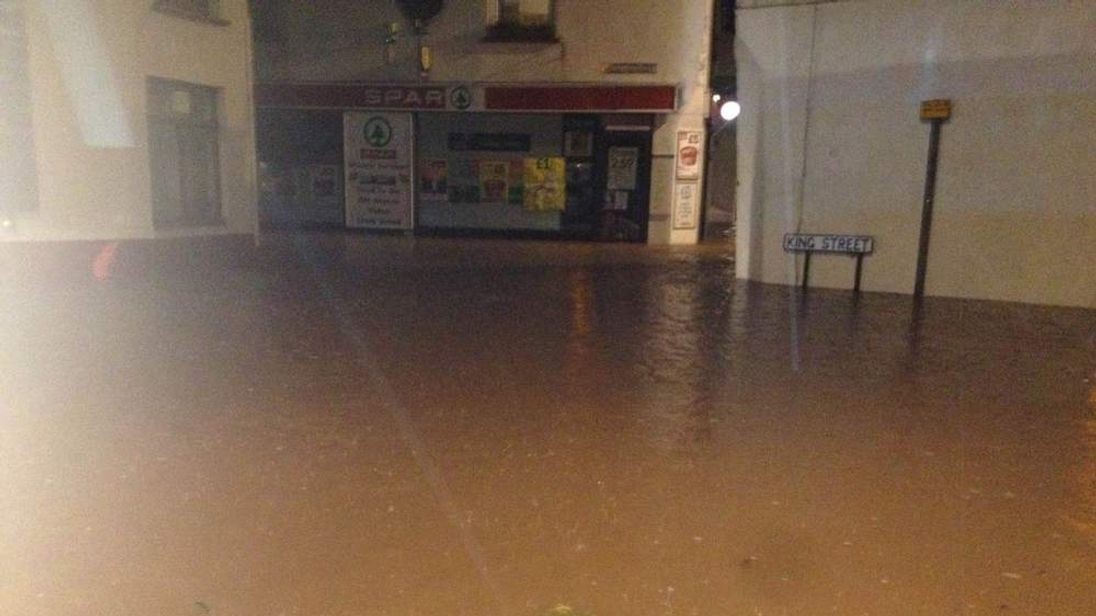 Picture of Cornwall flooding submitted by Matt Skinner