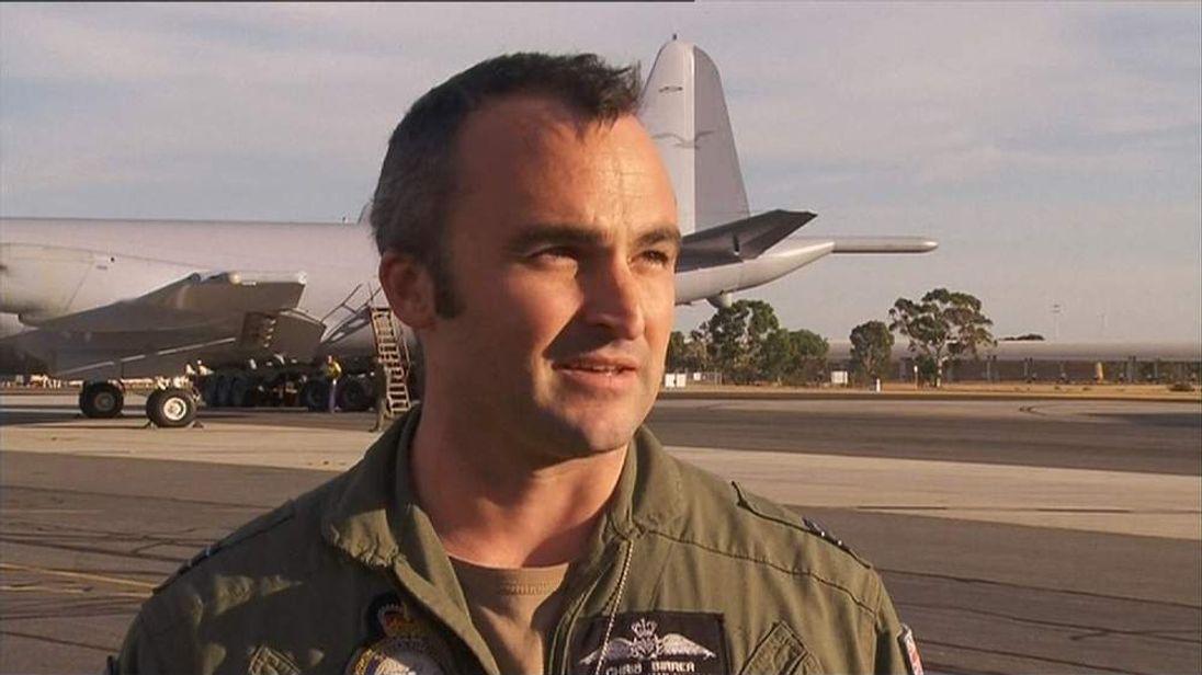 Flight Lieutenant Chris Birrer, Royal Australian Air Force