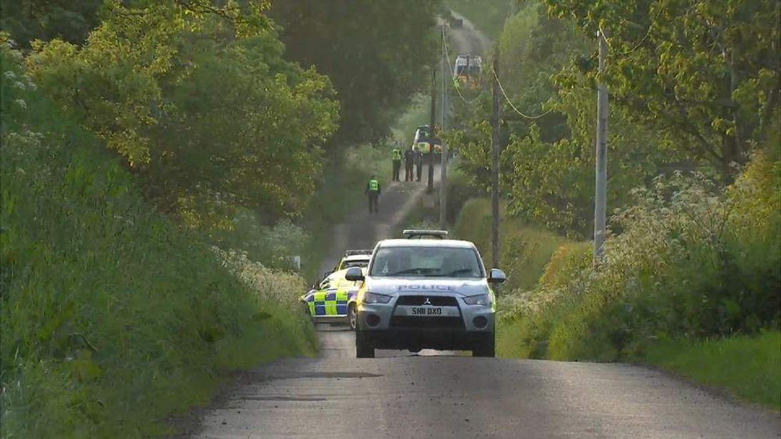Scotland car rally crash