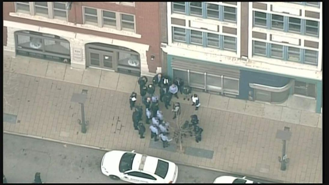 Scene of St Louis shooting