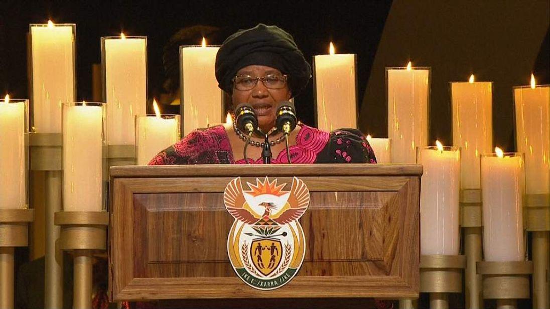 Pres of Malawi Joyce Banda