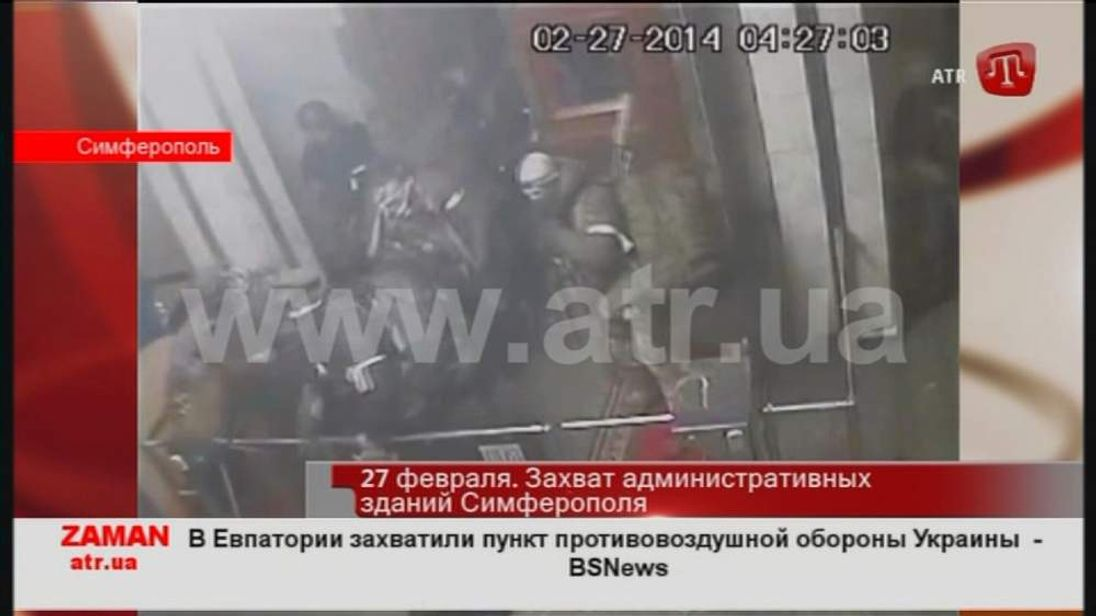 Crisis escalates in Crimea