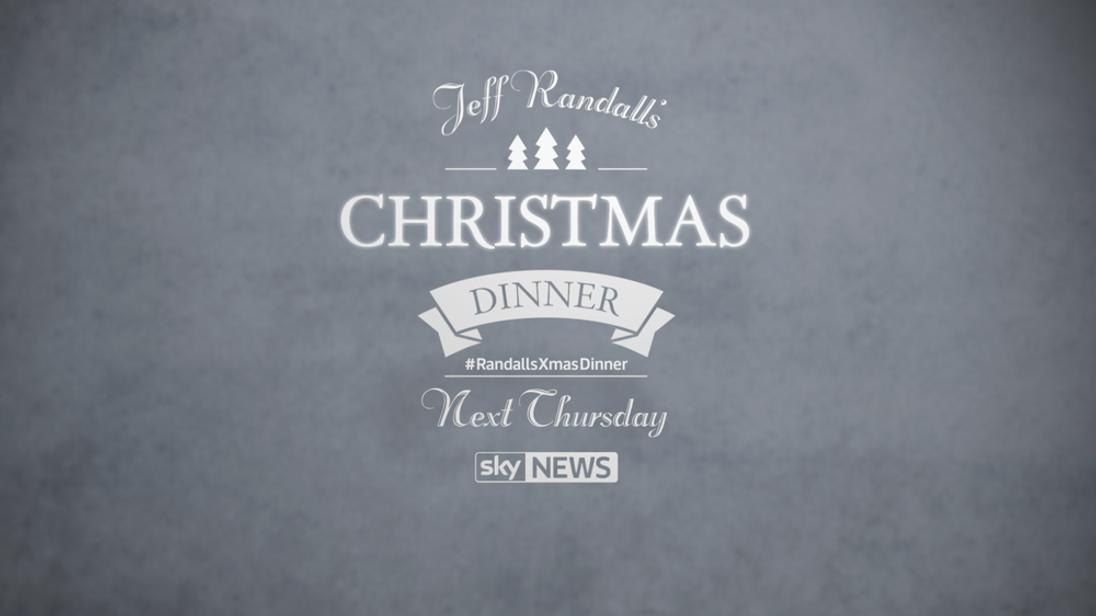 Jeff Randall's Christmas Dinner Promo 2013