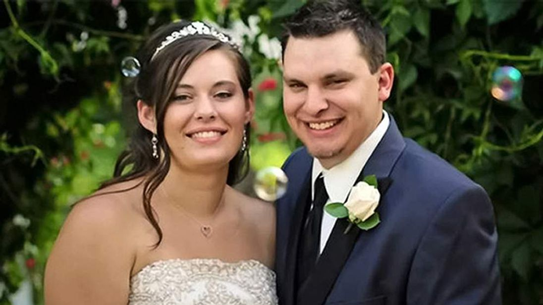 Woman charged with murder after allegedly pushing husband off cliff a week after their wedding, Montana, America - 10 Sep 2013