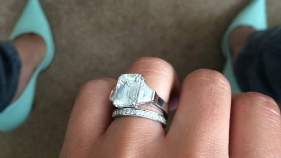 Cheryl Tweedy wedding ring