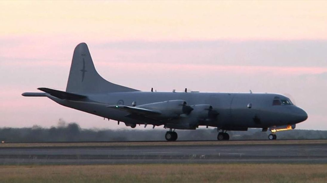 RNZAF P-3 Orion returns to Perth