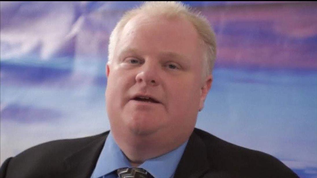 Embattled Toronto Mayor Rob Ford