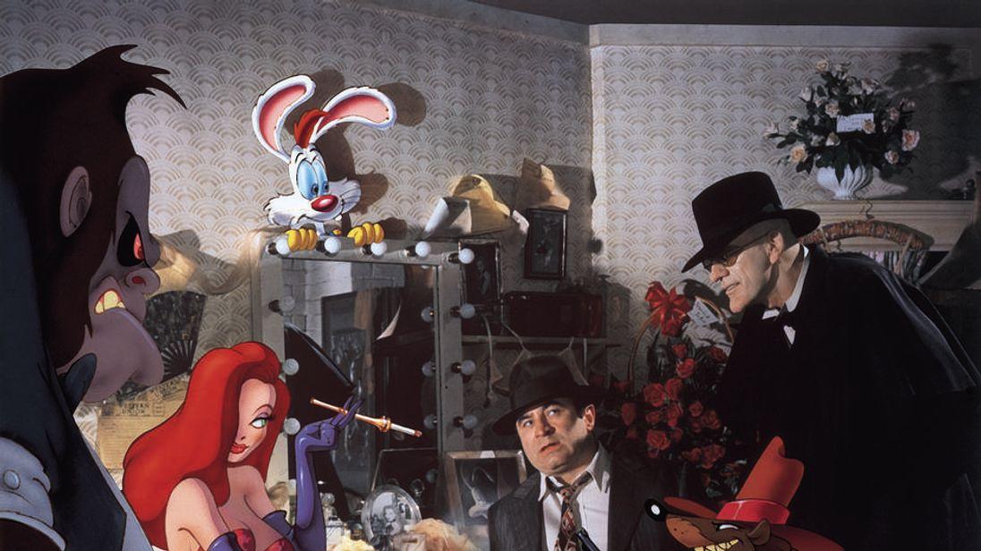 Bob Hoskins in Who Framed Roger Rabbit