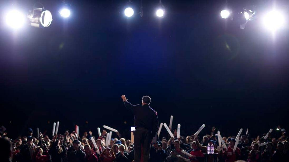 Romney rally in Virginia