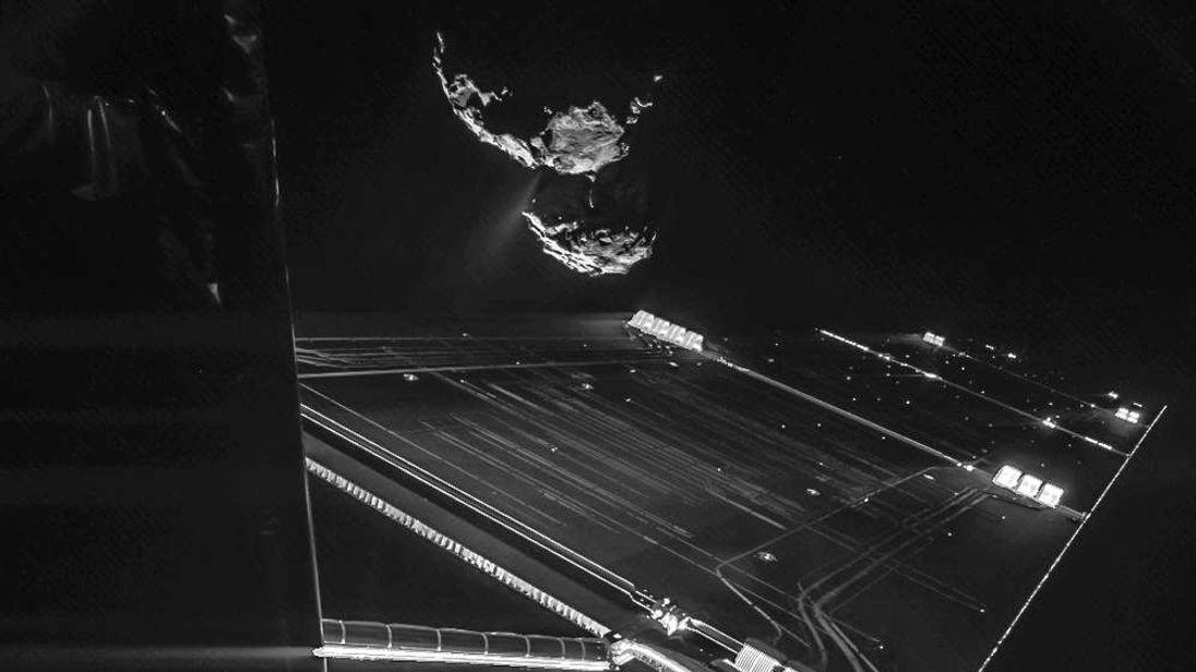 Rosetta mission selfie at 16 km: ESA/Rosetta/Philae/CIVA