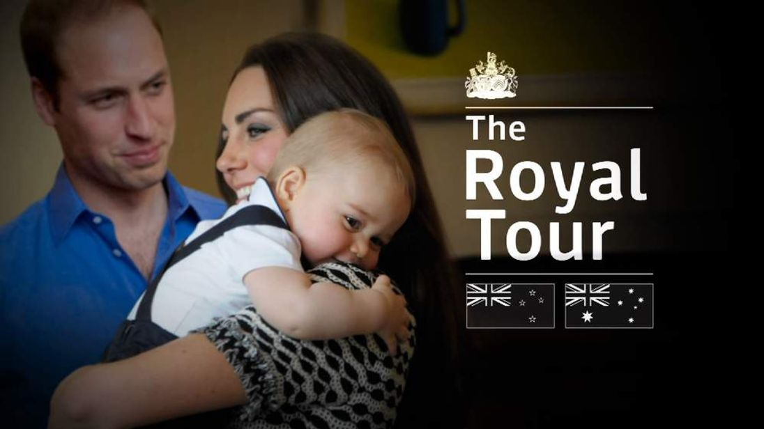 The Royal tour of New Zealand and Australia