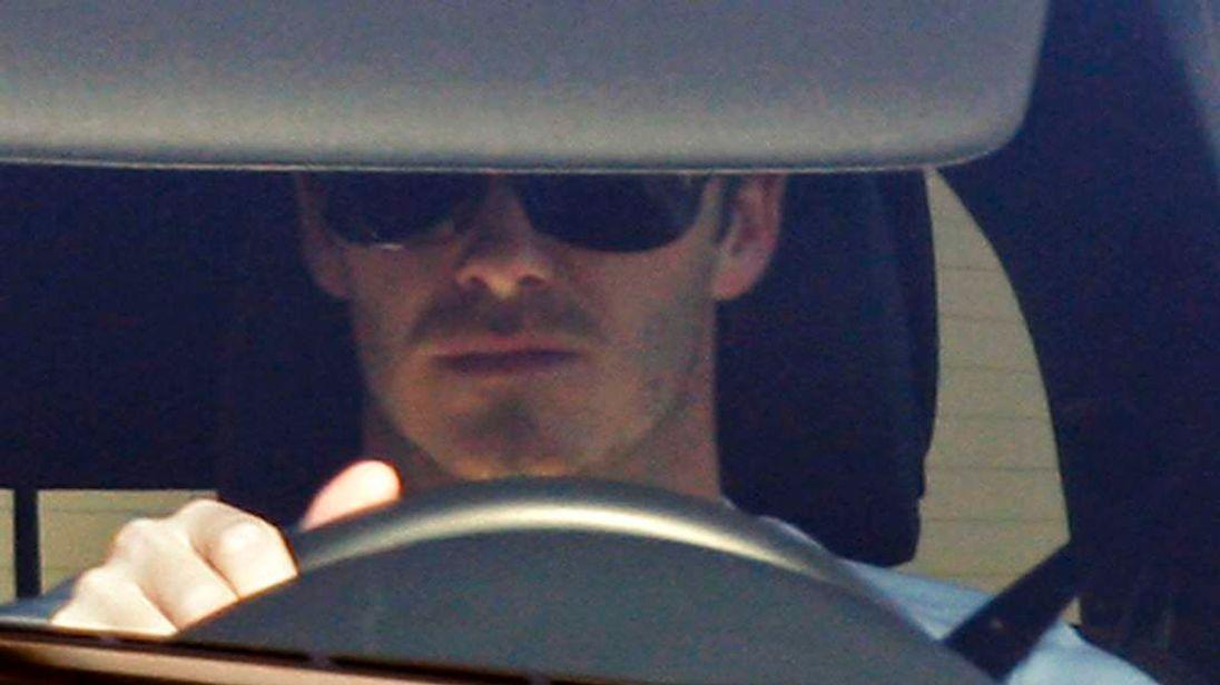 Football star David Beckham