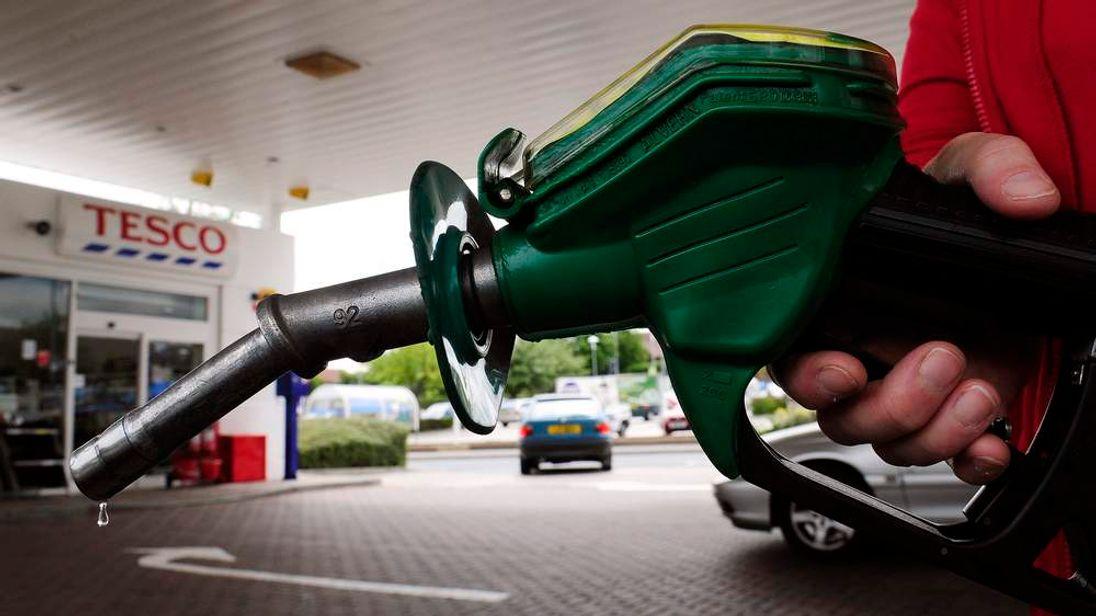 A Tesco petrol station