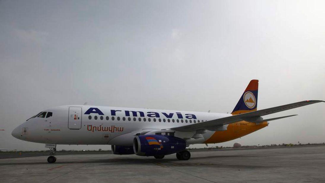 Armavia Airlines plane