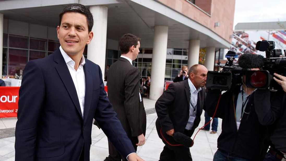 David Miliband Labour Party Conference