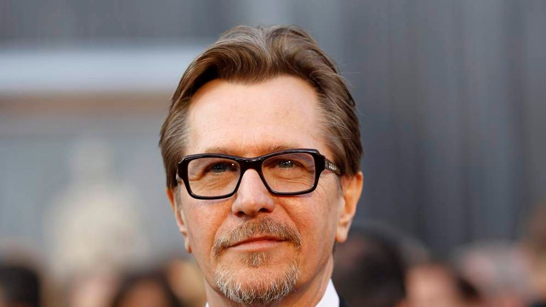 British actor Gary Oldman arrives at the 84th Academy Awards in Hollywood