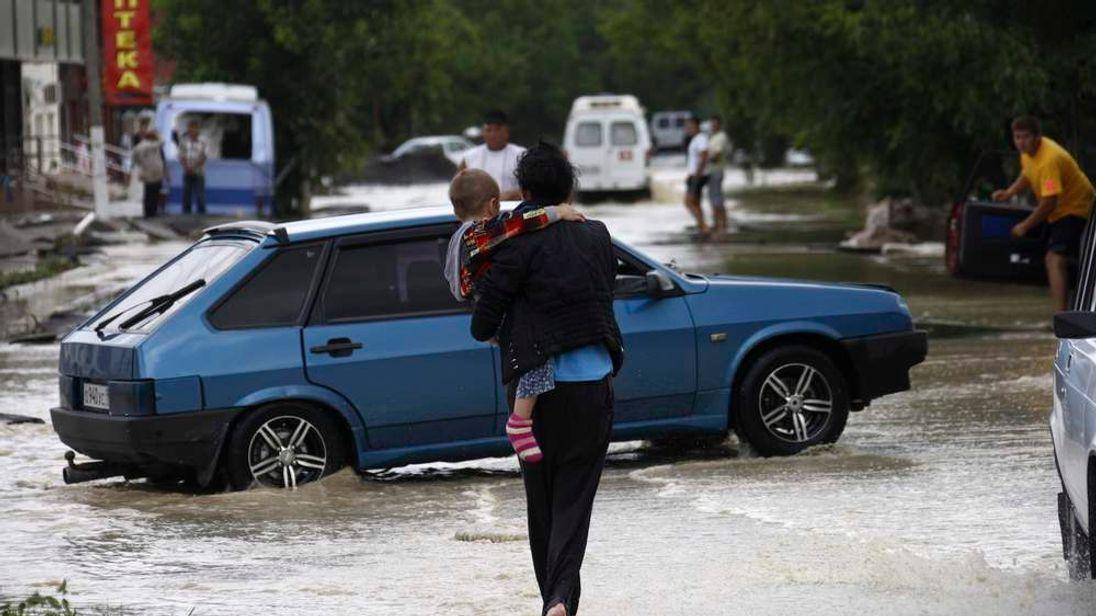 Russia floods