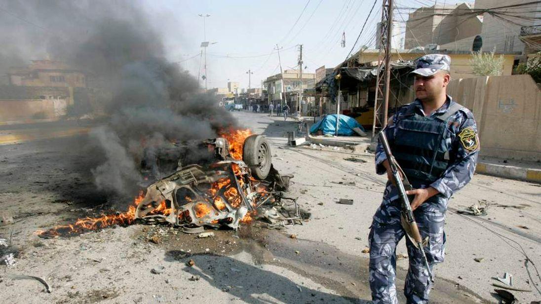 Car bomb attack in Mahmudiya