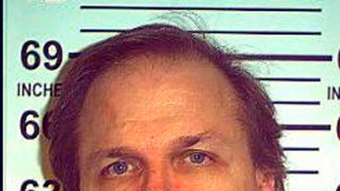 Chapman's official mugshot from May 2012