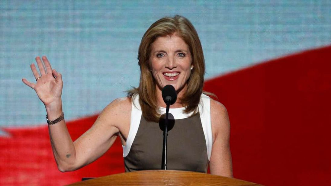 Kennedy addresses delegates during the final session of the 2012 Democratic National Convention