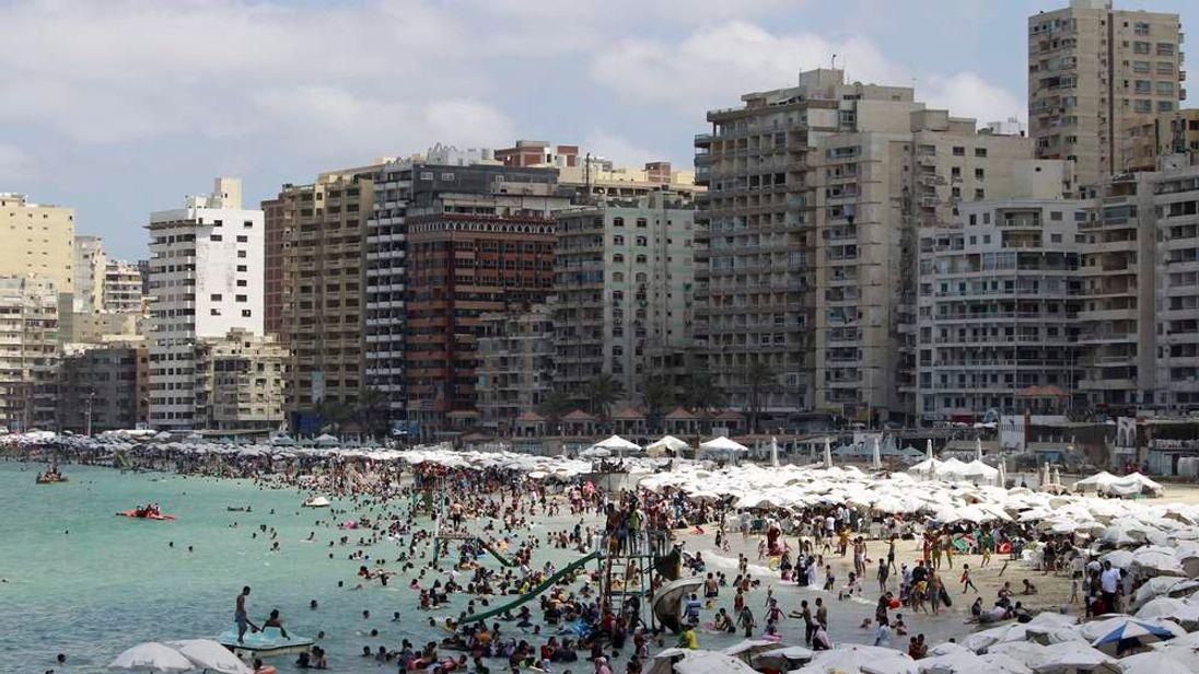 Egyptian port city of Alexandria