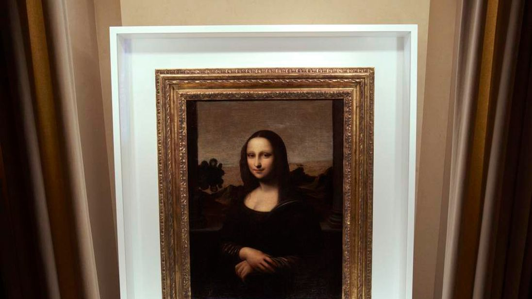 The 'earlier' Mona Lisa painting