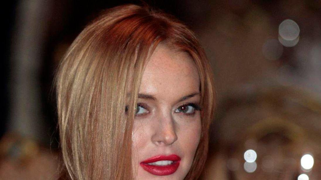 File photo of Lindsay Lohan in Washington
