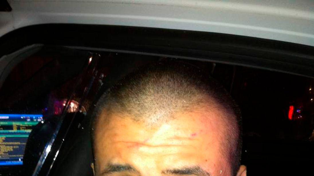 Handout photo of George Zimmerman in Sanford