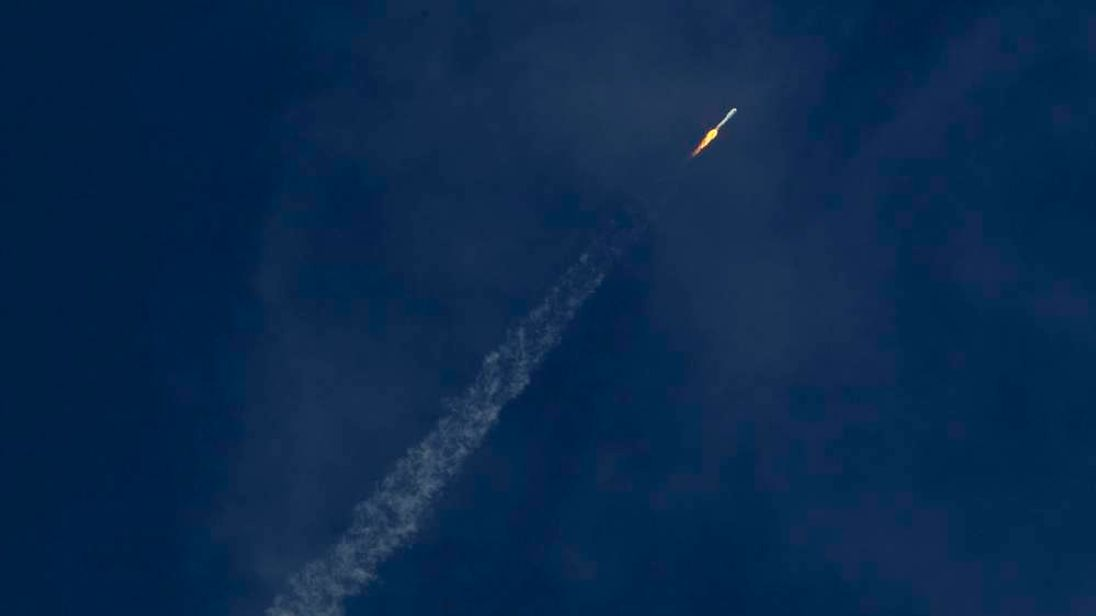 A United Launch Alliance Atlas 5 rocket carrying the U.S. military's X-37B spacecraft lifts off from launch complex 41 in Cape Canaveral, Florida