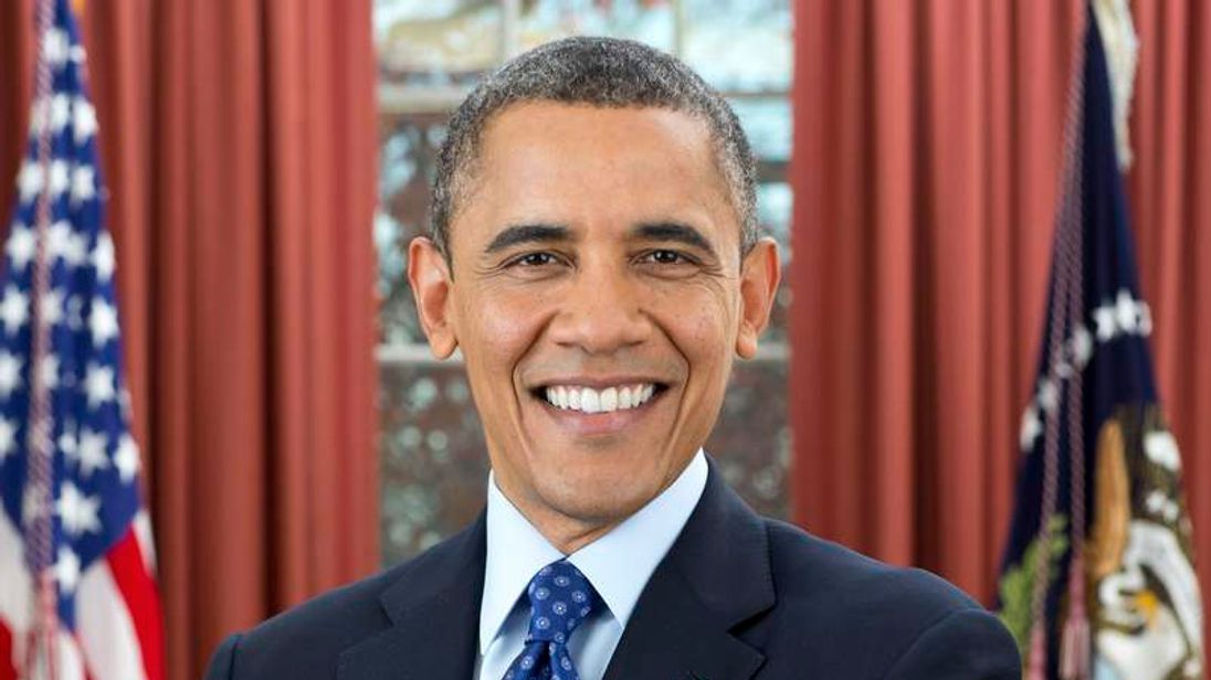 Official White House portrait of President Barack Obama 2013