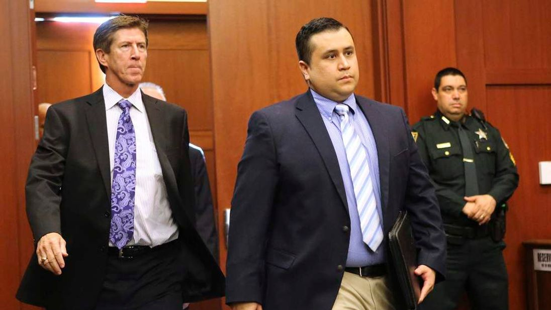 George Zimmerman arrives for a hearing in Seminole circuit court in Sanford