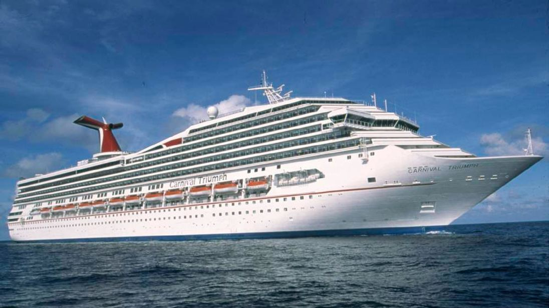 Carnival cruise ship, Carnival Triumph, is seen in this undated handout picture provided by Carnival Cruise Lines