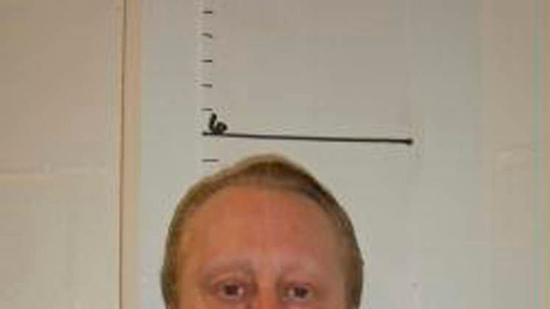Death row inmate Russell Bucklew is shown in Missouri Department of Corrections photo