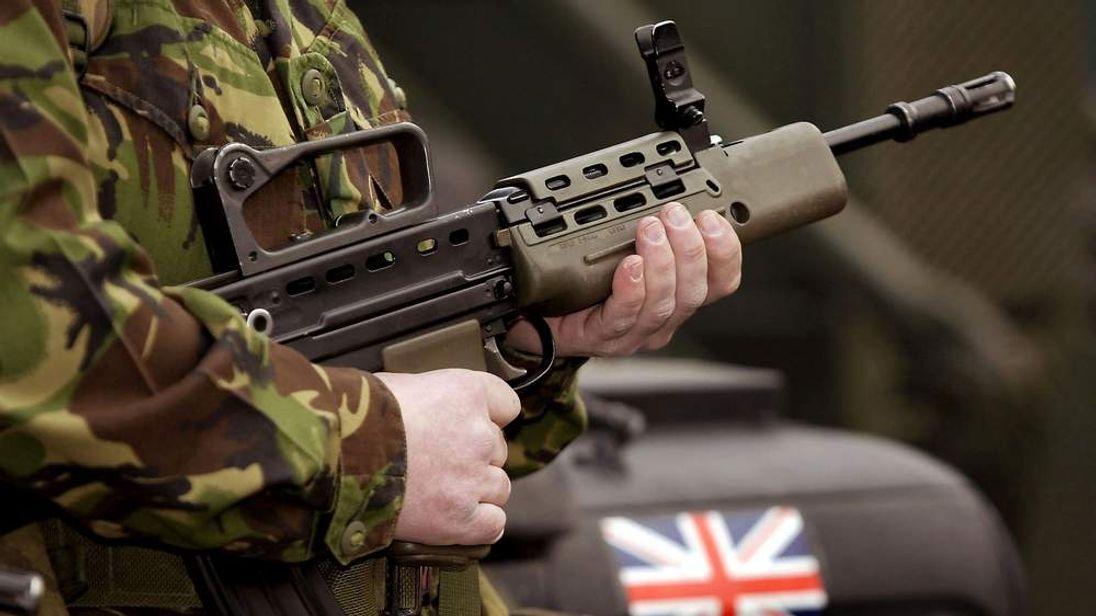 A British TA soldier