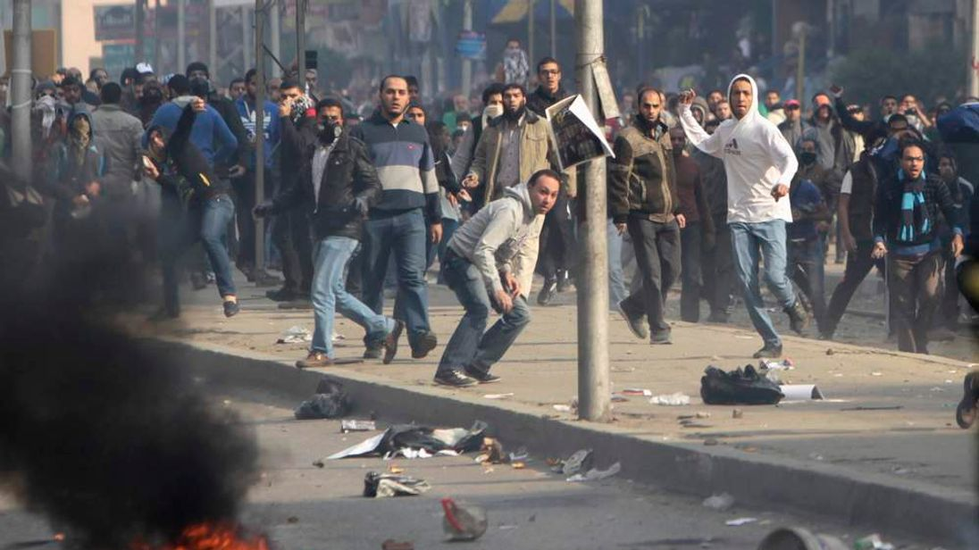 Fighting in Egypt