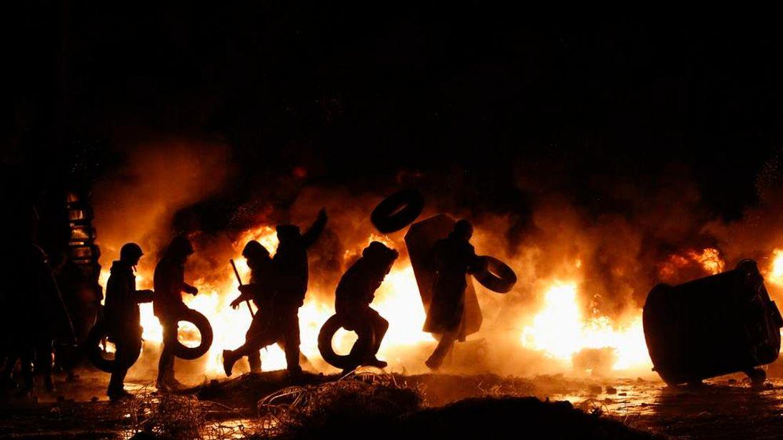Ukraine Protests In Kiev